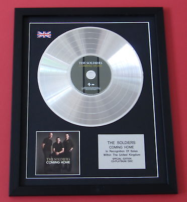 THE SOLDIERS Coming Home CD / PLATINUM LP DISC Presentation