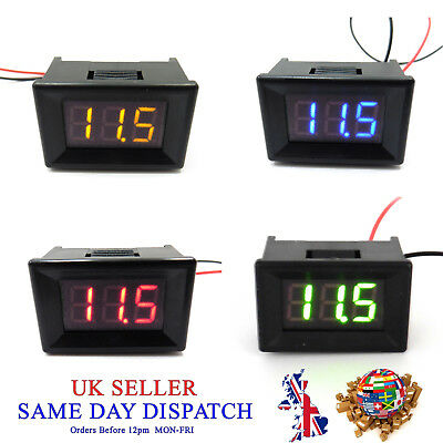 3-30V DC LED Digital Display 0.36 Voltmeter Meter Volt Voltage Gauge Car