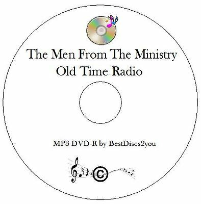 The Men From The Ministry 151 Old Time Radio Shows OTR MP3 CD Audio Book Comedy