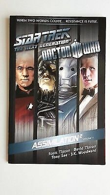 DOCTOR WHO STAR TREK The Next Generation ASSIMILATION 2 VOLUME 1 - IDW 2012