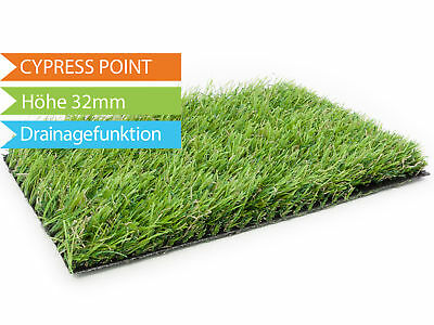 CYPRESS POINT Artificial Lawn Imitation Grass Turf with Drainage