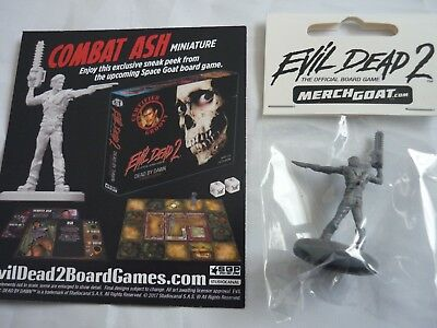 Evil dead 2 figure combat ash miniature official board game preview card sealed