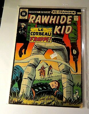 Rawhide Kid #35 Edition Herge (French) Bronze Age Comic CB1286