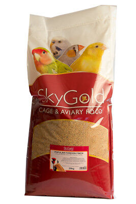 SkyGold Popular Foreign Finch Wild Bird Food Feed Seed Mix 20kg Bag