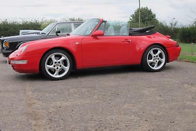 Porsche 911 '993' Air cooled car 3.6 Tiptronic  Carrera S cabriolet