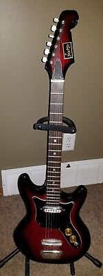 Norma 3/4 size electric guitar