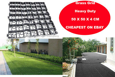 Grass Grid - Heavy Duty Plastic - Outdoor- Greenhouse -Pavement -Path -Driveway