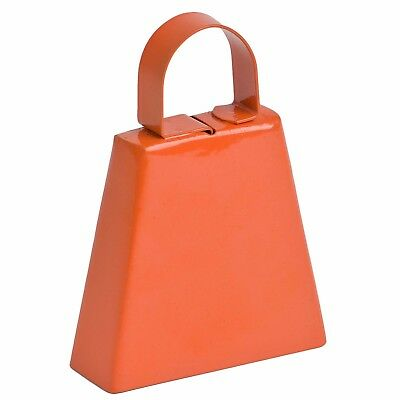 Orange Plain Post Box Cowbell (GBELLORPB) GoGo Bells