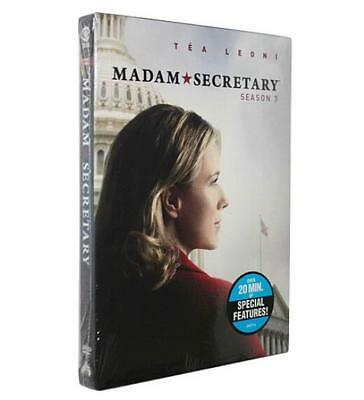 Madam Secretary Season 3   (DVD, 2017, 6-Disc Set) Brand New Sealed