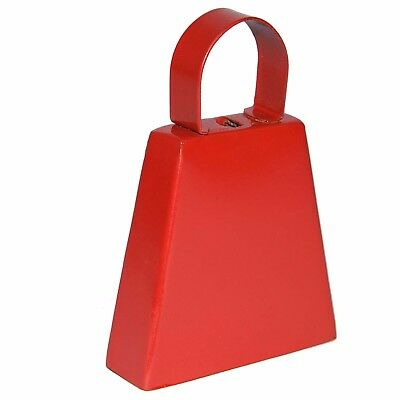 Red Plain Post Box Cowbell (GBELLRDPB) GoGo Bells