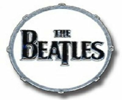 The Beatles Drum Head band Logo new official metal Mini lapel Pin Badge One Size