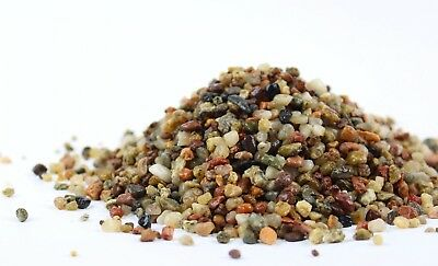 25 KG PEA SHINGLE GRAVEL SAND AQUARIUM SUBSTRATE 2-5mm 100% NATURAL