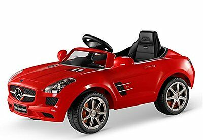 Luxury Mercedes SLS AMG Remote Control 12V Ride-On (Red) Free Shipping