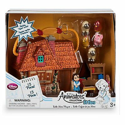 Disney Beauty & The Beast Belle Micro Animator's Collection Playset. New