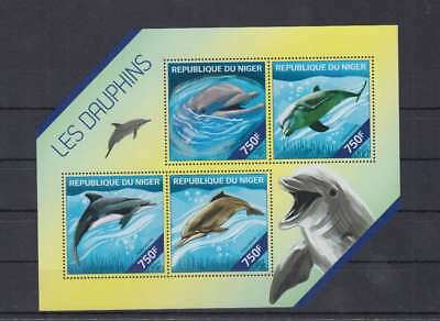 O66. Niger - MNH - Nature - Dolphins