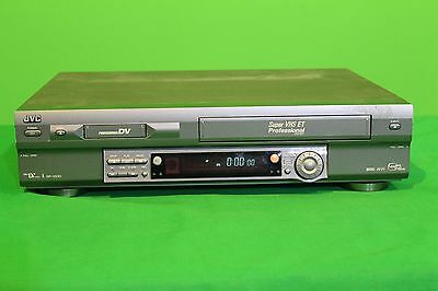 Jvc Sr-Vs30U Super Vhs Mini Dv Pro Professional Dual Video Recorder Player Deck
