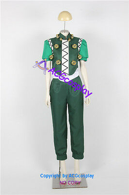 Hunter X Hunter Illumi Zoldyck Cosplay Costume include balls props