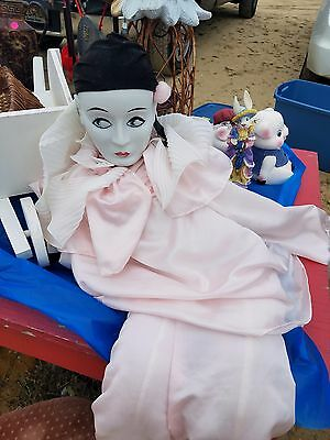 Mime Doll , porcelain head soft body 46 in length