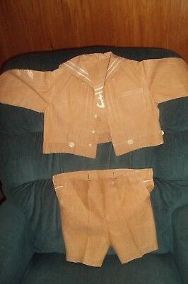 Victorian Sailor Suit Little Boys Clothing Antique Childrens Clothing~ Perfect