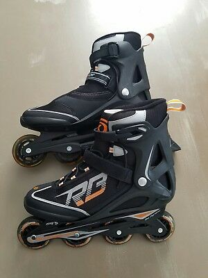 Zetrablade Sg5 80Mm/82A Rollerblade Mens Size 12 Fit Training Inline Skates