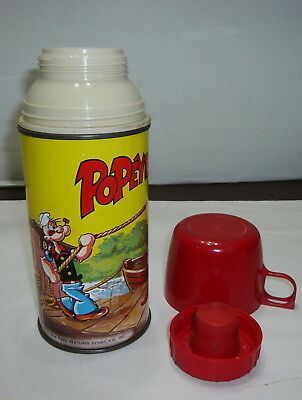 Vintage 1964 Popeye Thermos King Features
