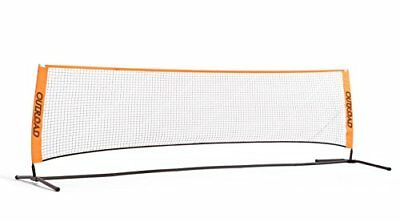 OUTROAD 10FT Portable Badminton Tennis Pickelball Practice Net Stand Adjustab...