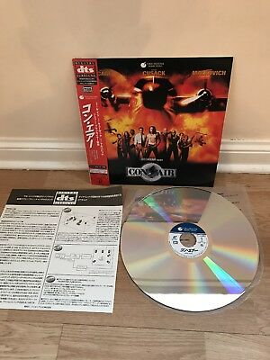 Con Air DTS Japanese laserdisc with obi mint condition PILF-2678 very RARE sound