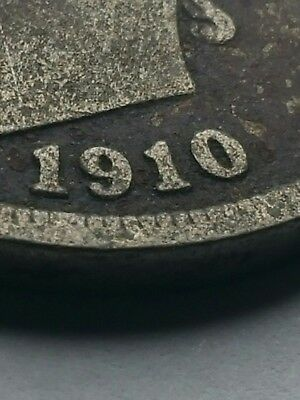 United States Barber Head Nickel 1910 You do the cleaning and grading Circulated