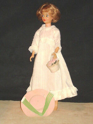 1960s Grown-Up Straight Leg Tammy Doll with Outfit Ideal Toy Corporation VGC NR