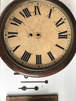 Antique Clock for Restoration/Spares (School/Railway Style)