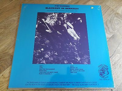 The Damned LP Blackout in Berkeley Square club 82 TMOQ Press FACTORY SEALED SWW