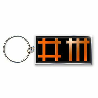 Depeche Mode Keyring Keychain band Logo new Official metal One Size