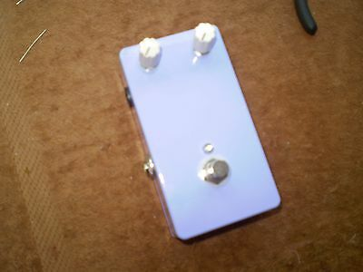 Fuzz Face effect pedal  -clone-  Handwired on turretboard
