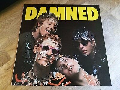 The Damned LP Damned Damned Damned UK Stiff 1st press WONDERFUL COPY +++++