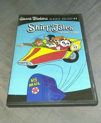 SHIRT TALES COMPLETE SERIES DVD Set Hanna-Barbera Classic Collection RARE OOP