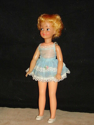 "1960s Pepper Doll of ""Tammy's Family"" in Original Outfit Ideal Toy Corp. VGC NR"