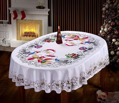 Santa Claus Christmas.table Clothes Decorations