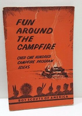 BOY SCOUTS of America Book FUN AROUND THE CAMPFIRE Program Ideas