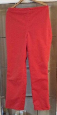 CABELA'S Red Outdoor Pants Small Polyester Shell  Nylon Made in the USA