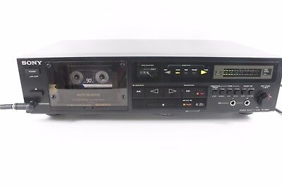 SONY TC-R303, stereo cassette deck (ref A243)