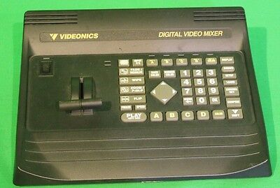 Videonics MX1 Digital Video Mixer Serial MC004225 12 VAC at 1.2A Chroma Key