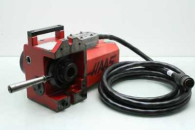 Haas HA5C 4th Axis Rotary Table Indexer w/ 5C Collet, 17 Pin Cable