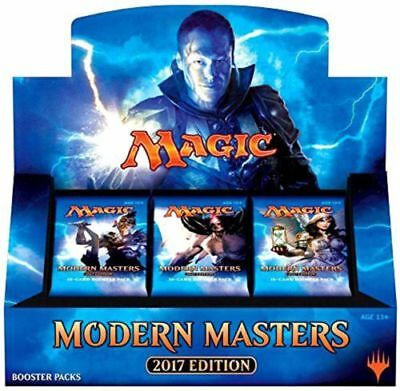MODERN MASTERS 2017 Edition Booster Box factory Seal MTG Magic the Gathering