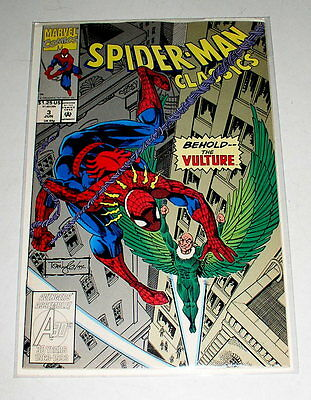 SPIDER-MAN CLASSICS #3  REPRINTS THE 1ST VULTURE from ASM #2