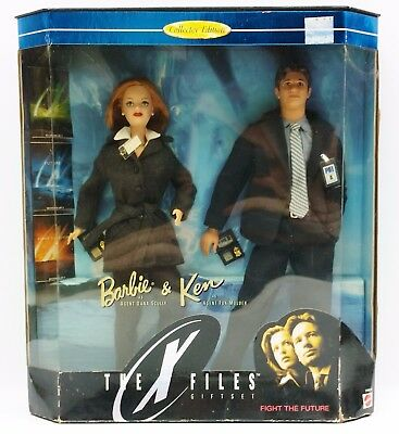 Barbie & Ken The X Files Gift Set Collector Edition Nrfb