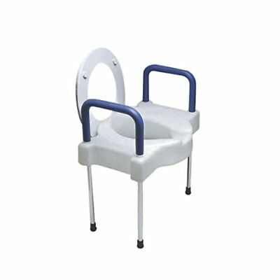 SP Ableware Tall-Ette Elevated Toilet Seat with Extra Wide Seating Surface an...