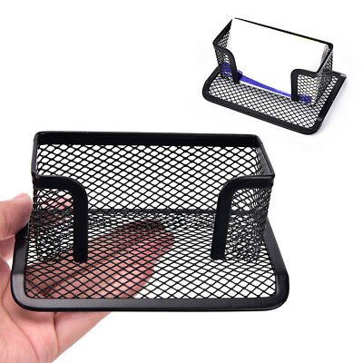 1Pc Black Mesh Cards Box Storage Rack Holder Tray Table Desktop Display Standsxi
