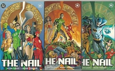 Justice League The Nail #1 2 3 Set Nm Prestige Format Gn