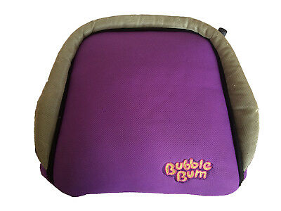 Bubblebum Portable Inflatable Car Booster Seat (Purple) Child Toddler Travel