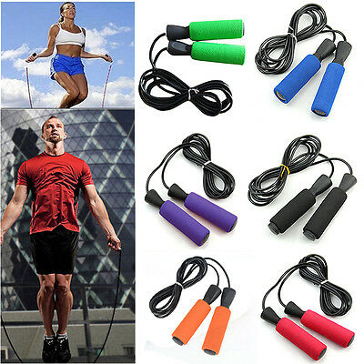 Aerobic Exercise Boxing Skipping Jump Rope Adjustable Bearing Speed Fitness Tool